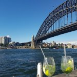 G&T on the terrace with a view!