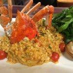 Chilli Crab Risotto