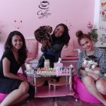 enjoy with our lovely cats