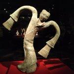 Porcelain figurine of a dancer