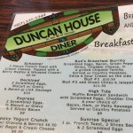 Do go to Duncan House Diner in Homer. AK!