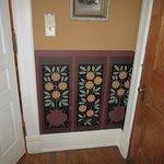 Manderley Bessie's Room-Wall Hand-Painting Detail