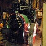 A steam boiler