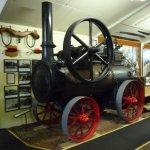 An old steam boiler.