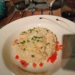 UN risotto juste parfait et délicieux....