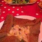 Salade du Chef et Galette excellentes et copieuses, un vrai régal !!!
