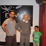 With Mr.Einstein