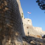 Hvar fortress walls