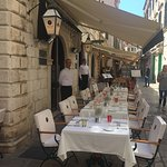 Porto restaurant, located in the heart of Dubrovnik's old walled city, is outstanding for lunch