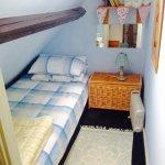 The quriky and quaint single bedroom in Gardener's Bothy