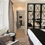 Bedroom from an Oak suite
