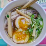 Incredible tea eggs, high-quality local pork and delicious broth.