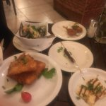 more of the fish meze with the lovely cod