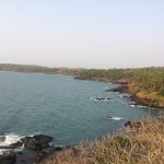 Cabo De Rama Fort - the beach below the fort
