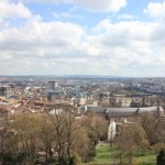 View from top of Cabot Tower over the city