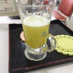 喜界空港売店の砂糖キビ生ジュース