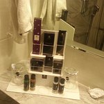 Range of complimentary toiletries