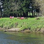 riverside picnic spot