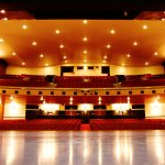 Inside the Auditorium & The Stage