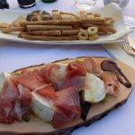 mozarella et jambon italien