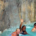 Nothing better than chilling at Crystal Falls Wave Pool with family and friends.