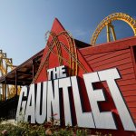 Are you up to the challenge? The Gauntlet, only at Magic Springs Theme & Water Park.