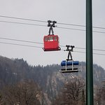 Zwolferhorn Cable Car Foto