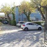 cortile dove parcheggiare la macchina