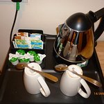 tea and coffee making facilities in every room