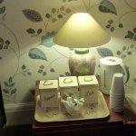 tea/ coffee in the lounge