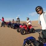 Namibia Desert, the quad tour