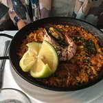 Mixed Paella - good portion