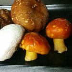 Fresh wild fungi....new recipes with caesar and porcini mushrooms.