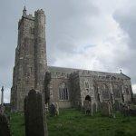 Churchyard view.