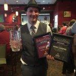 Adam Erickson winning the SD Bartender Championship