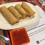 The spring rolls made by us