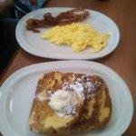 Lumberjack breakfast at Friendlys!