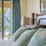 All master bedrooms have king beds that overlook Grace Bay!