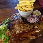 BBQ Ribs and Chefs Slaw
