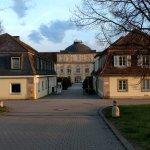Portal des Schlosses Hohenheim.