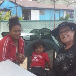 """We're here getting our fresh""""OPAH """" fish, THANK YOU cousin Evelyn Gonzalez for telling me about"""