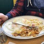 Monte Cristo             Ham and Eggs  Breakfast Sandwich