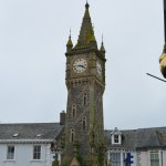 Machylleth Clock Tower near the White Lion Hotel