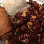 Kung Pao Chicken lunch