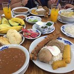 Great food and great price! The bandeja paisa is an awesome food.