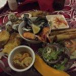 Seafood platter for 1