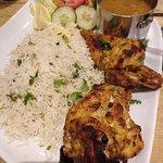 Tandoori chicken - excellent! :-)