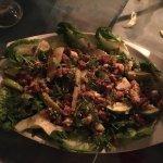 walnut, pear and roquefort salad