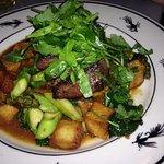Peppercorn Crusted Flat Iron Steak