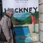 Hockney at Tate Britain before lunch
